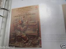 TIMBRE FRANCE NEUF CARNET CROIX ROUGE ANNEE 1980 N° 2029 sans charnière