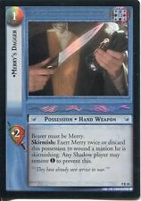 Lord Of The Rings CCG Reflections Foil Card  9R18 Merrys Dagger