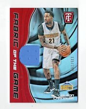 WILSON CHANDLER NBA 2017-18 TOTALLY CERTIFIED FABRIC OF THE GAME (DENVER NUGGETS