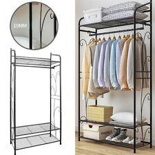 Kleiderschrank Metall Dielenschrank Offen Garderobe Wohnzimmer Begehbar Regal DE