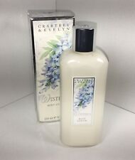CRABTREE & EVELYN WISTERIA SCENTED BODY LOTION 8.5 OZ. DISCONTINUED RARE htf