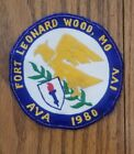 Fort Leonard Wood, Mo. Embroidered Patch 1980 AVA IVV   USED