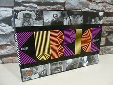 STANLEY KUBRICK : THE MASTERPIECE COLLECTION 10 DISC BLU RAY SET. BOOK, BOXSET.