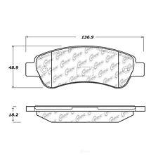 Disc Brake Pad Set fits 2014-2019 Ram ProMaster 1500,ProMaster 2500,ProMaster 35