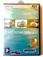 Colin Mcrae Rally 2.0 PC Nuevo Precintado Videojuego Videogame Sealed New ITA