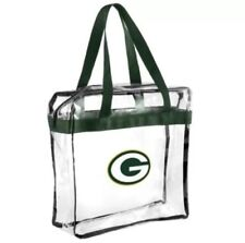 67564c10cc93 NFL 2016 Clear Green Bay Packers High End Messenger Bag Stadium Approved Bag