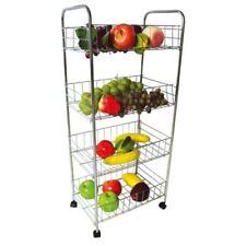 Unbranded Chrome Kitchen Fruits/Vegetable Holders