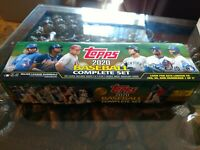 2020 Topps Complete Set Retail Series 1 & 2 Opened Luis Yordan Lux No SP's