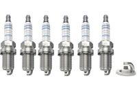 Spark Plugs x 6 Bosch Super Plus Fits Jaguar XJ (X300)(XJ 40 81) XJS 3.2 3.6 4.0