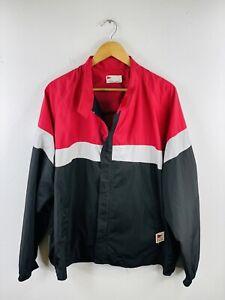 PGA Tour Men's Zip Rain Proof Golf Jacket Size XL Black Casual Full Zip Collared