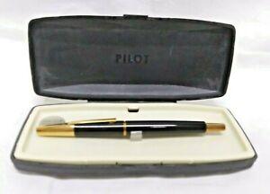 Vtg. PILOT Vanishing Point Capless Retractable Fountain Pen w/ Fine 14K Gold Nib