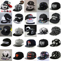 FASHION Mens Snapback Baseball Caps Bboy Brim adjustable Unisex Hip Hop Hats