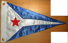 Chicago Boat Yacht Club Harbor Boat Ship Regatta Marina Pennant Flag Burgee Race