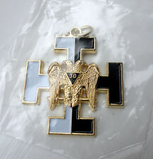 ZP422 Freemason Jewel Pendant Masonic 30th Degree Templar Knight Kadosh