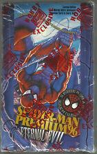 1996 SPIDERMAN PREMIUM ETERNAL EVIL FACTORY SEALED WAXBOX 36 PACKS FREE SHIPPING