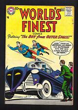 WORLD'S FINEST #92  FINE VERY FINE 7.0!  BEAUTIFUL COPY!  1958!