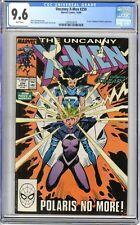 X-Men  #250  CGC   9.6   NM+  White pgs  10/89   Ka-Zar, Zaladane & Polaris App.