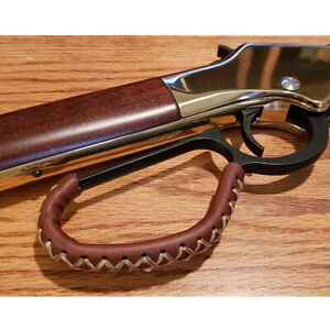 Premium Leather Lever Wrap for Lever Action Rifles Henry, Winchester, Marlin