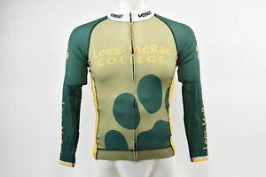 Brand New Verge Lees-McRae Cycling Team Men's L/S Triumph Strike Jersey Grn/Gd M