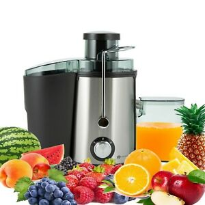 PureMate 600W Juicer Machine Fruit Veg & Citrus Centrifugal Electric Extractor