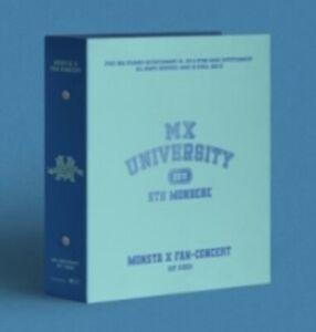 MONSTA X 2021 FAN-CONCERT [MX UNIVERSITY] KIT VIDEO K-POP SEALED NEW+TRACKING