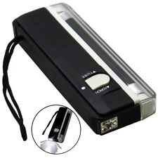 Portable 2 in 1 4W UV Ultra Violet Black Light Lamp Torch BANK NOTES Money Check
