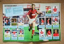 Daily Mirror Football 88 (1988) Stickers Sets English Scottish Teams - Various