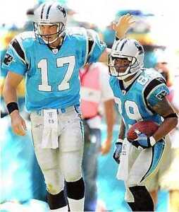 Very Rare Jake Delhomme Steve Smith Carolina Panthers