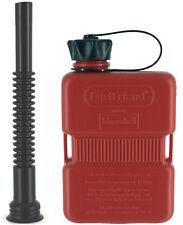 FUELFRIEND-PLUS 1 Liter Mini-Benzinkanister Reservekanister Jerrycan + Füllrohr