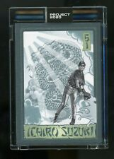 Topps Project 2020 Ichiro by Mister Cartoon #272 In Hand PR Only 3,843! 6