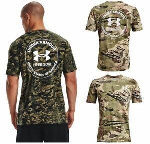 Under Armour 1370822 Men's UA Freedom Camo Short Sleeve Tee Athletic T-Shirt