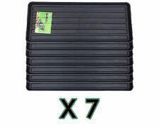 BLACK GROW BAG TRAY X7