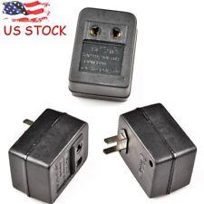 Universal Voltage Converter Adaptor 50W Step Up 110V-220V Transformer US Plug