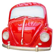 1967 Red Volkswagen Beetle Bug Front End Wall Decor with Working Head Lights