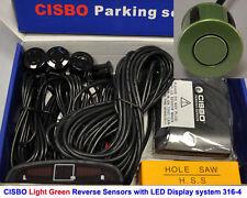 Luz De Color Verde inversa Estacionamiento 4 Sensores De Audio Zumbador Alarma Pantalla Led