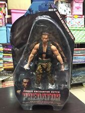 """Jungle Encounter Dutch Predator Series 9 Scale Action Figure 7"""" New In Package"""