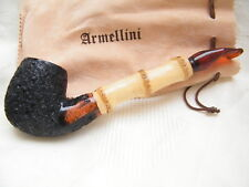 NEW SMOKING  PIPE BRIER UNSMOKED ARMELLINI BAMBOO XL   #627