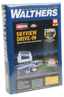 Walthers Cornerstone HO Scale Model  Skyview Drive-in