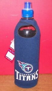 TENNESSEE TITANS WATER KOOZIE & BOTTLE WITH CLIP BRAND NEW!!!!