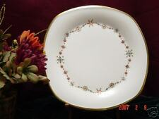 2 Lenox ETERNAL White CHRISTMAS Square Accent Plate NEW