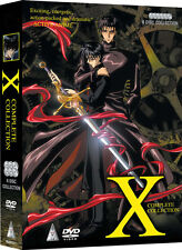 X . The Complete Series . 24 Episodes + OVA Collection . TV Serie Anime . 6 DVD