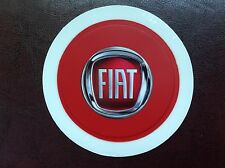 FITS FIAT ABARTH TAX DISC HOLDER 500 600 red PUNTO PANDA BRAVO UNO BRAVA STILO
