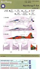 Bestfong Decals 1/144 NORTHROP F-5A FREEDOM FIGHTER Chinese Air Force