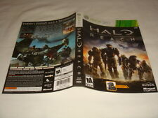 Artwork Only for Halo : Reach - Microsoft Xbox 360 game Cover Art Replacement