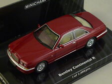 MINICHAMPS 436139920 - BENTLEY CONTINENTAL R 1996 rouge métal 1/43