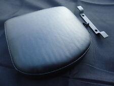 BackRest Pad Smooth Top stitch Harley Davidson Medallion Style Sissy Bar Upright