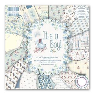 """First Edition 6"""" x 6"""" Paper -  Choose from Its a Girl/Its a Boy Sample Pack"""