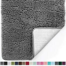 Luxury Chenille Bathroom Rug Mat 44 x 26 Extra Soft Absorbent Large Shaggy Rugs