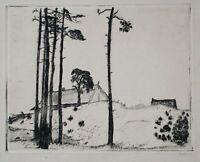 Sebba Shalom - Ostseeküste - Radierung - 1922
