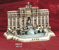 Souvenir Italia Roma Fontana di Trevi 3D Resina cm 19 X 13 Arte e Storia Paben